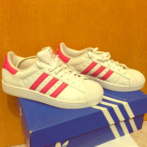 adidas superstar dark pink