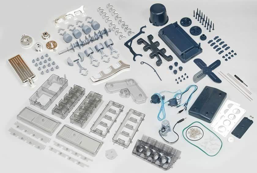 HAYNES V8 COMBUSTION ENGINE MODEL KIT BUILD YOUR OWN