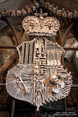 Sedlec Ossuary Kutna Hora Bone Art Sedlec Ossuary