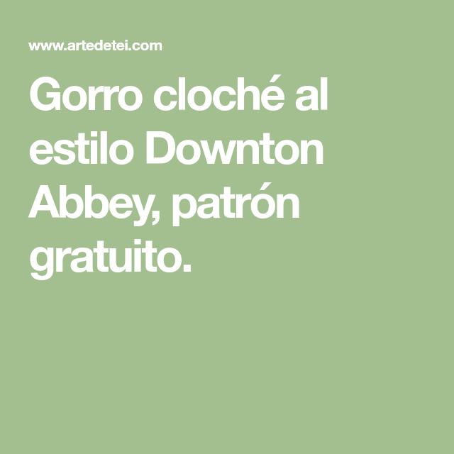 Contemporáneo Downton Abadía Patrones Que Hacen Punto Libre Cresta ...
