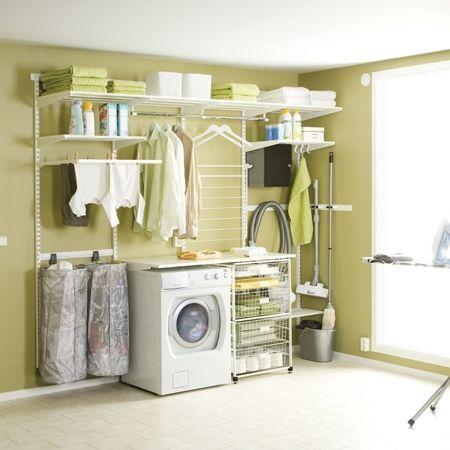 Howards storage world elfa laundry solution but we 39 d - Howards storage ...