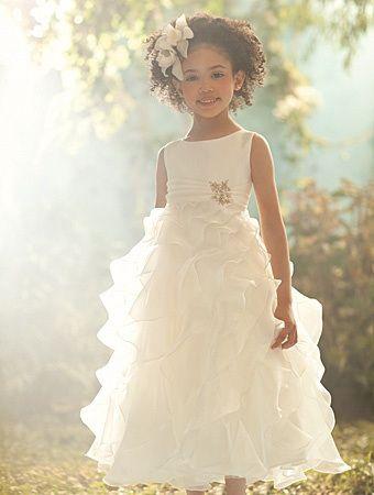 37708d332c Fanciful Flower Girls ❀ dresses   hair accessories for the littlest wedding  attendant  -) ruffles