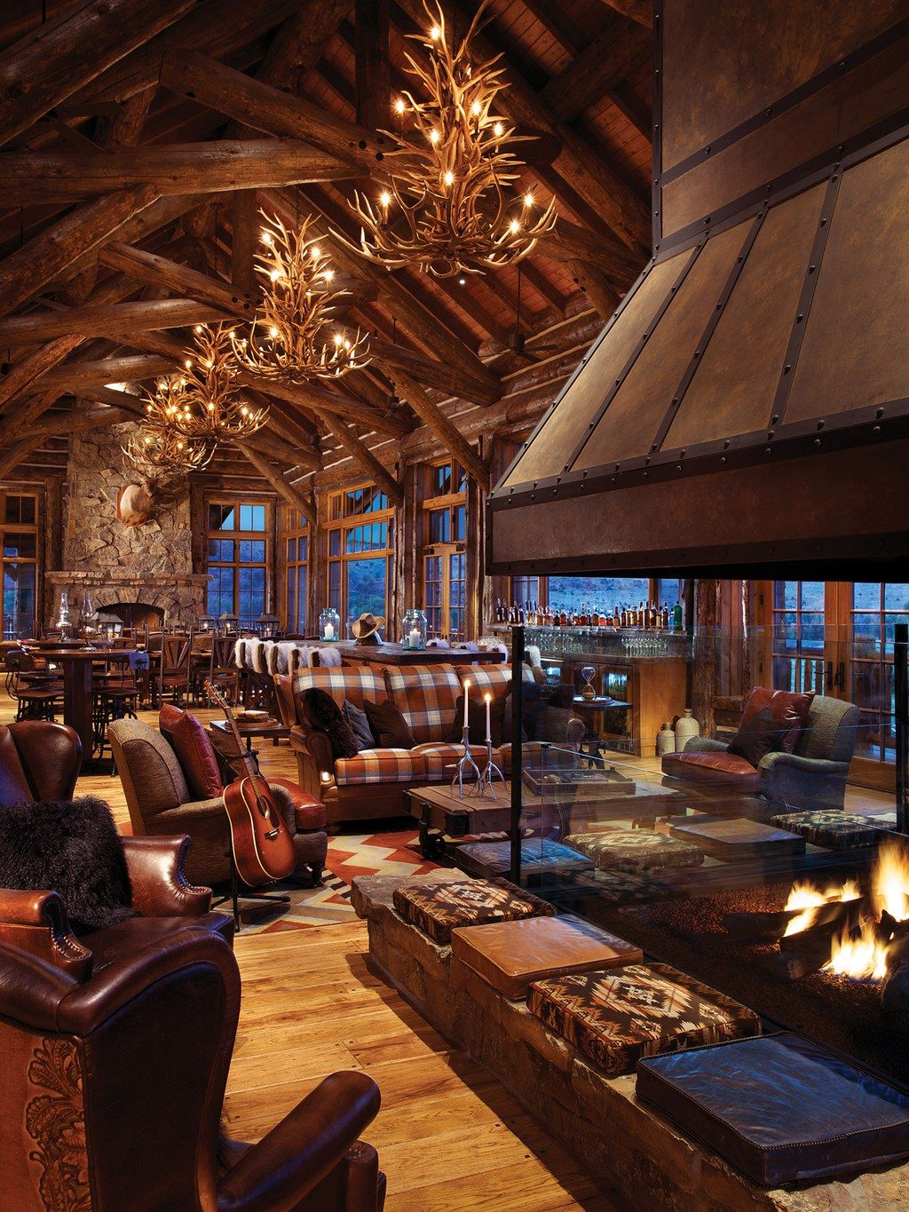 The Lodge Spa At Brush Creek Ranch In Saratoga Wy