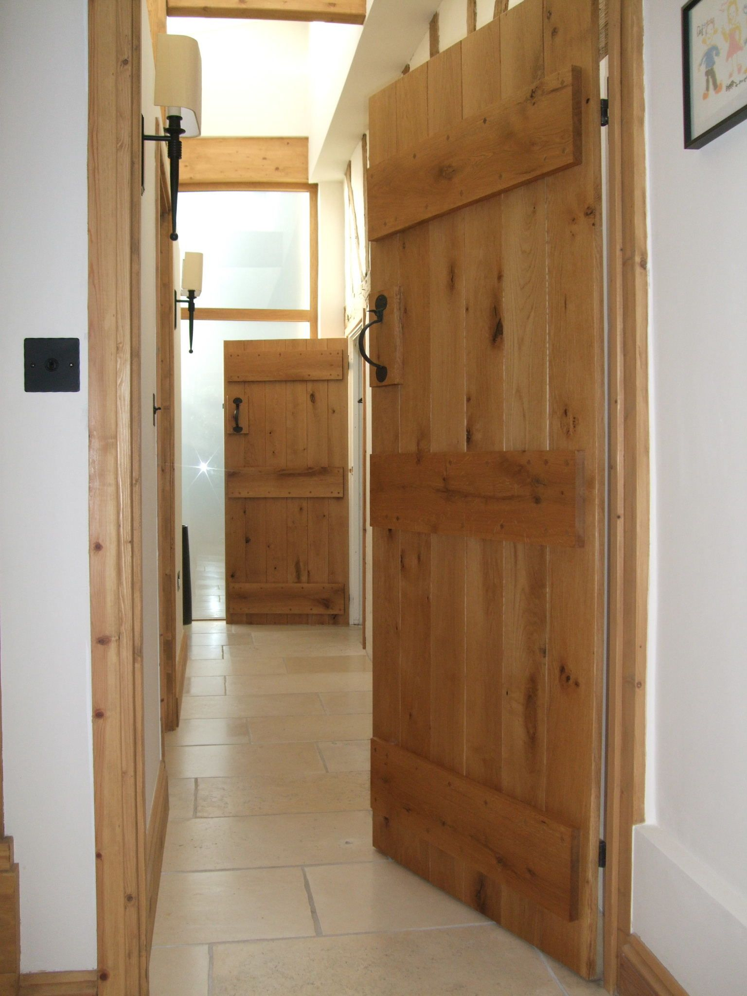 Solid Oak Barn Door Doors Cottage Door And Oak Doors