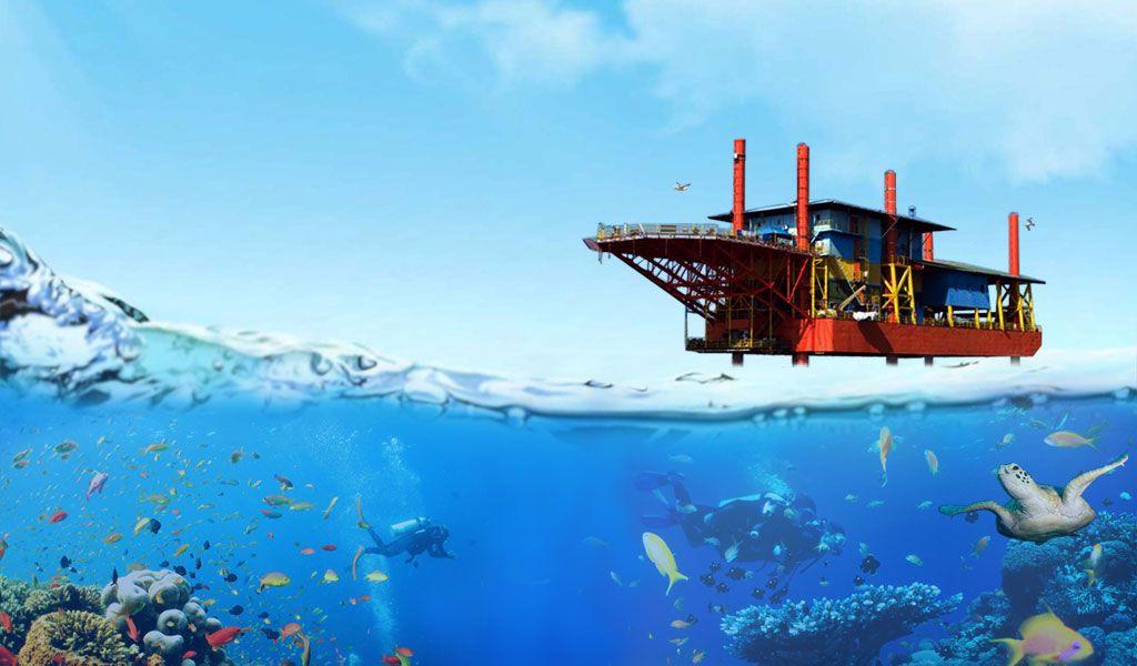 Seaventures Rig Dive Resort Sipadan Island Malaysia