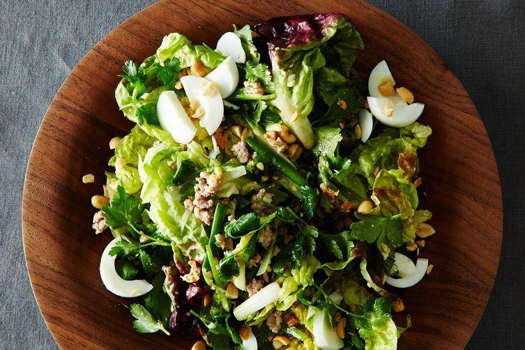 Jeffrey Alford And Naomi Duguid S Luang Prabang Fusion Salad Recipe On Food52 Recipe Salad Recipes Asian Inspired Salad Food 52