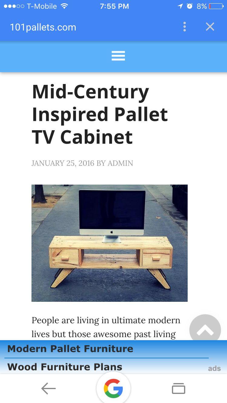 Pallet TV