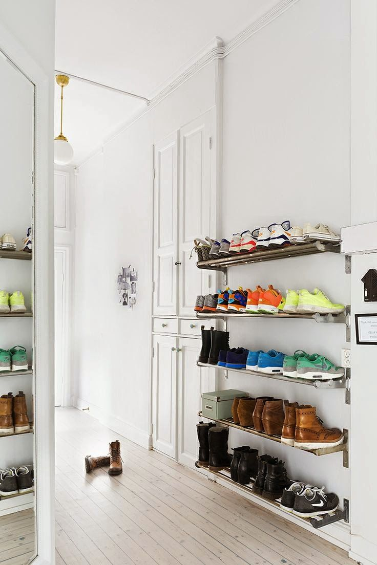 home & garden: 50 idées pour ranger ses chaussures | deco