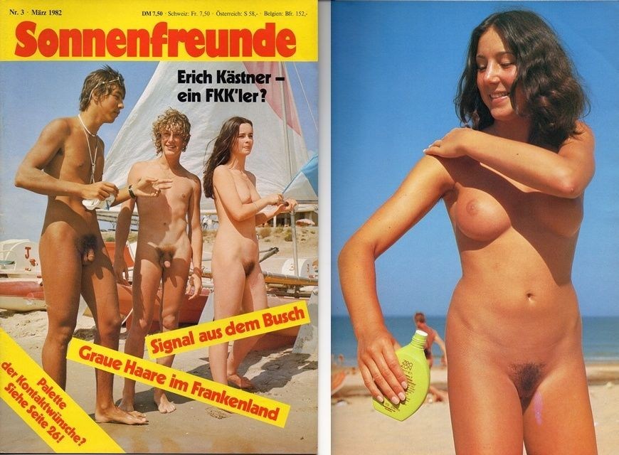 Does classic nudist camp magazines
