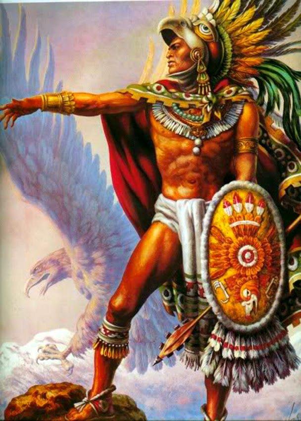 Caballero Aguila By Jesus Helguera Aztec Art Aztec Warrior Mexican Artwork