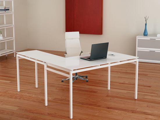 nova 60w x 30d x 30h desk w 40wx 30d x 30h return 324 plummers rh pinterest com