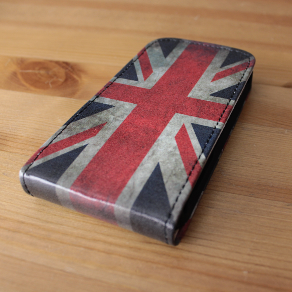 Galaxy S Duos Flip Case Engelse Vlag