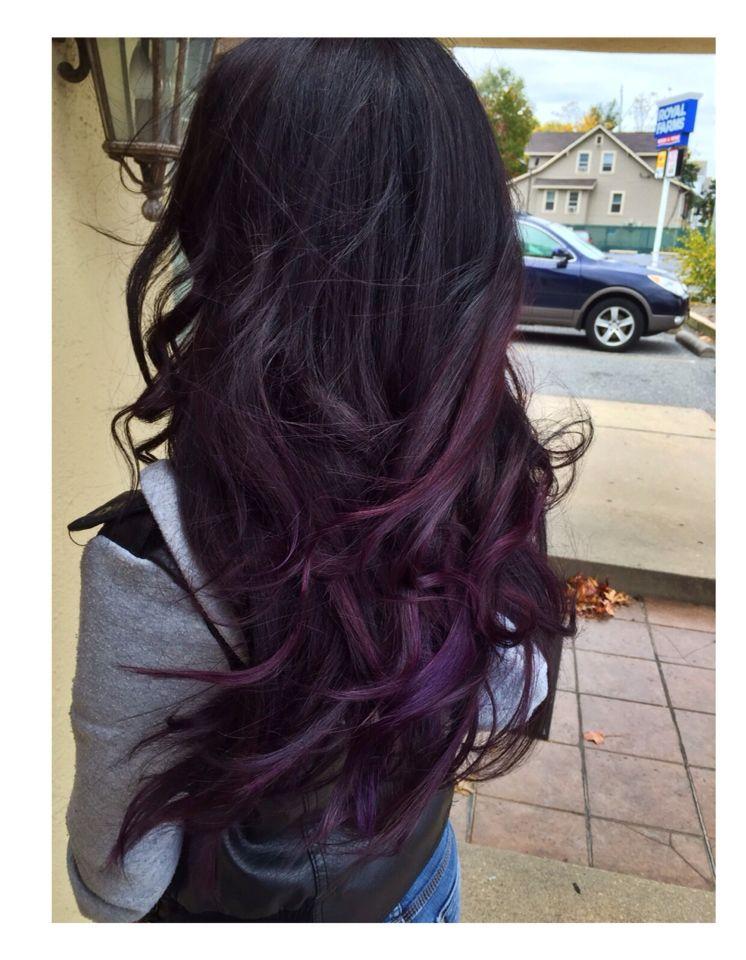 Park Art|My WordPress Blog_Dark Plum Hair Color Loreal