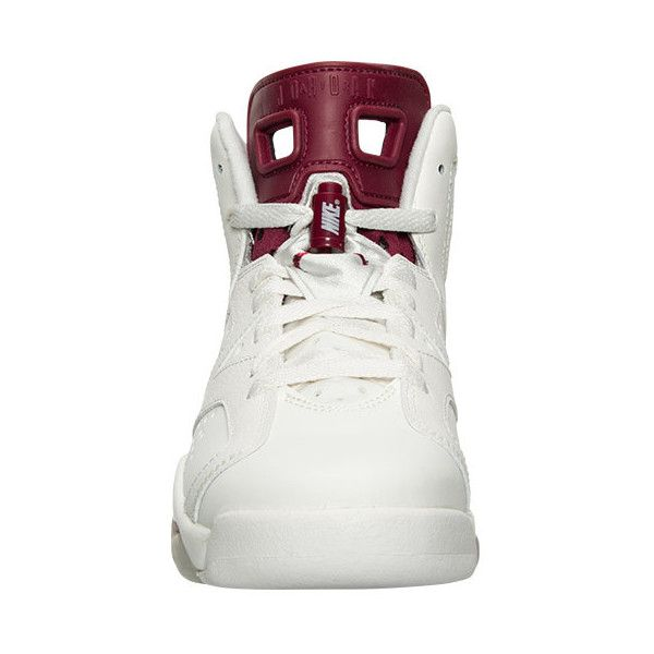 3763e74f47c4ce Boys  Grade School Air Jordan Retro 6 Basketball Shoes ( 160) ❤ liked on Polyvore  featuring shoes