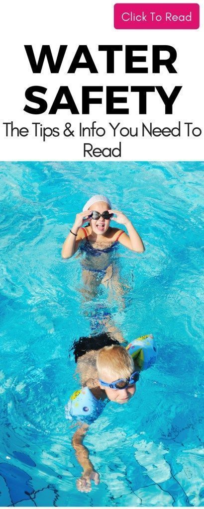 Is Your Child Water-Safe | Water safety, Child safety ...
