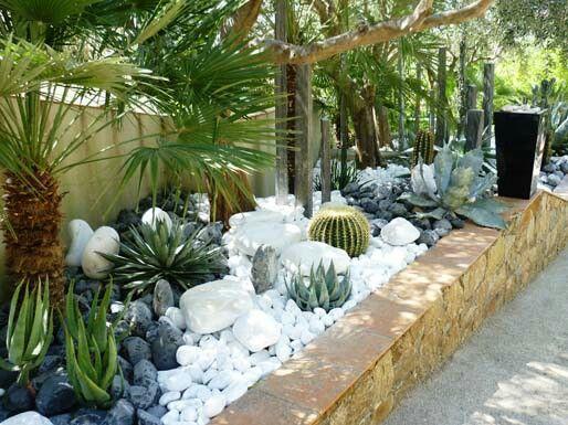 Galets Avec Images Idees Jardin Jardins Jardin Contemporain