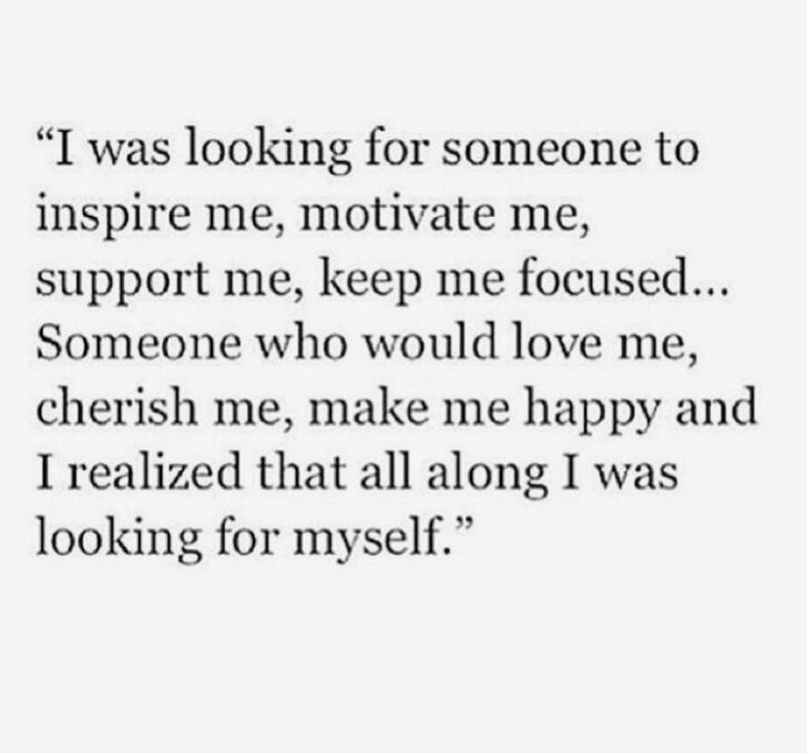 I was looking for someone...