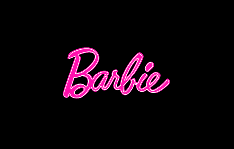 Black Barbie Logo Wallpaper HD Background Laptop
