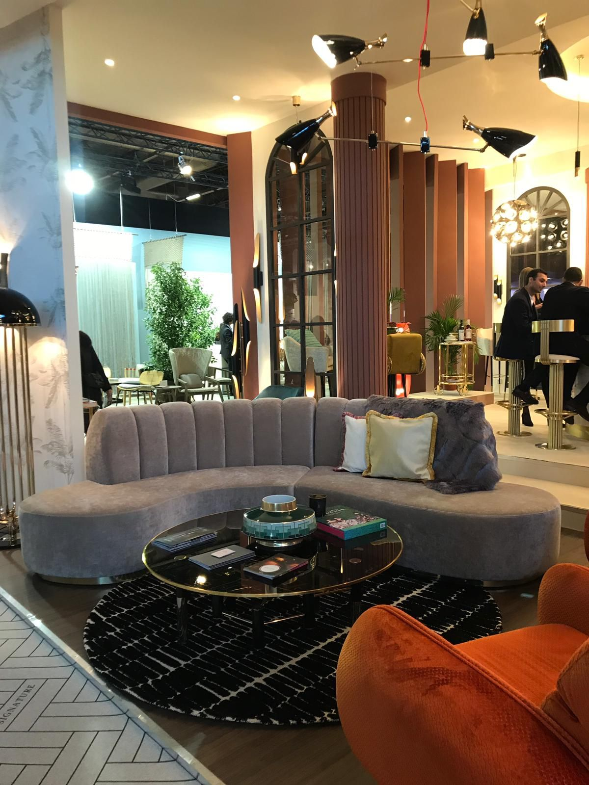 decoration interieur vintage moderne decoration vintage salon design collection s e This year Essential Home and DelightFULL wiil turn Mid-Century Modern and  vintage into life at another edition of Salon Maison et Objet in Paris.