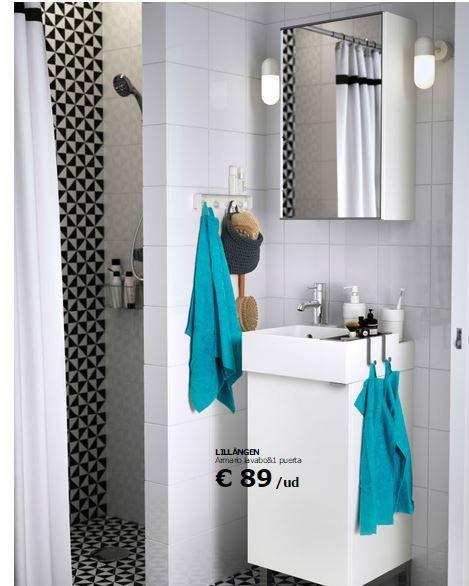 Planificador de baños Ikea | Muebles para baños pequeños