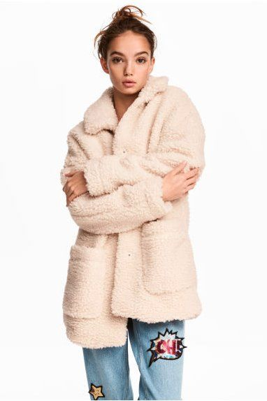 Here's the style that will be replacing the teddy coat in