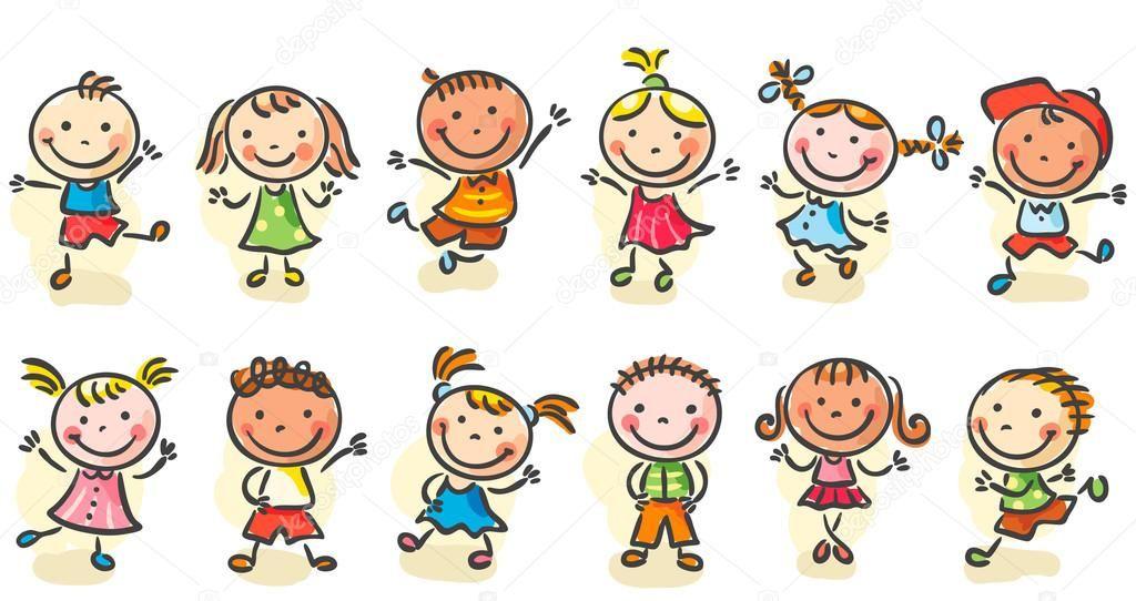 Resultado de imagem para desenho criança cozinhando vetor | Crianças  dançando, Desenho de boneco palito, Desenhos animados