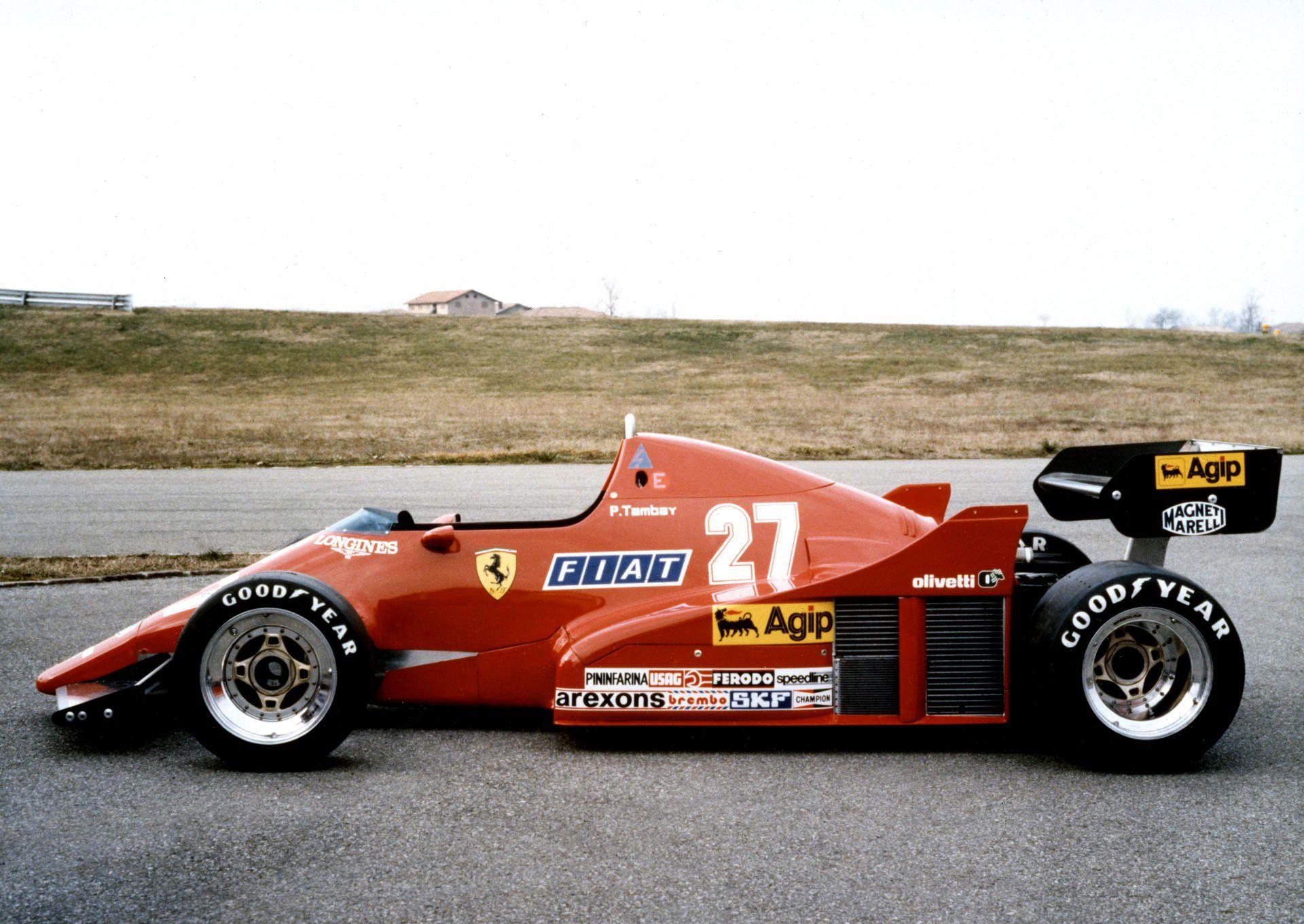 Ferrari 126 C2b 1983 Formel 1