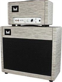 Morgan AC20 Deluxe Head & 1x12 Cab - Chalk Chilewich