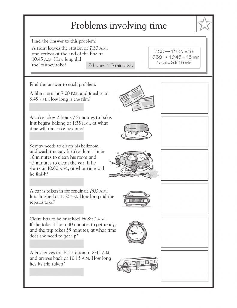 3rd Grade Math Word Problems - Best Coloring Pages For Kids   Problem  solving worksheet [ 1024 x 791 Pixel ]
