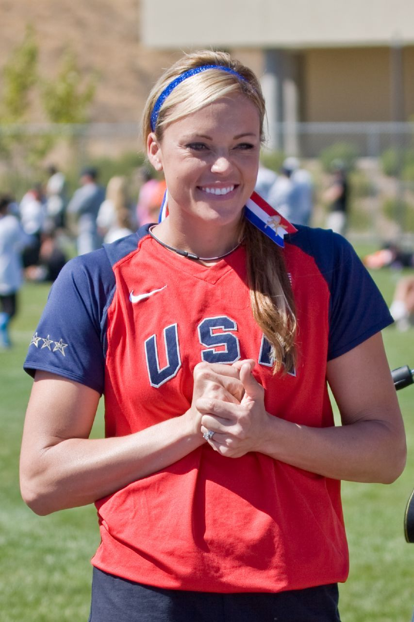 Wondrous Jennie Finch The Best Softball Player Ever Play Ball Hairstyle Inspiration Daily Dogsangcom