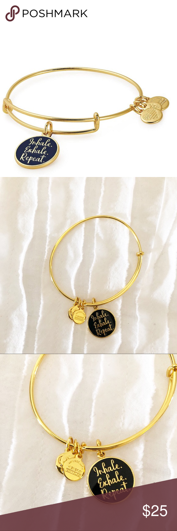 Alex and Ani Gold Metallic Inhale Exhale Bangle Excellent, like-new condition; no noticeable flaws. Alex and Ani Gold Metallic Inhale Exhale Bangle Gold combo Alex and Ani Jewelry Bracelets #inhaleexhale Alex and Ani Gold Metallic Inhale Exhale Bangle Excellent, like-new condition; no noticeable flaws. Alex and Ani Gold Metallic Inhale Exhale Bangle Gold combo Alex and Ani Jewelry Bracelets #inhaleexhale