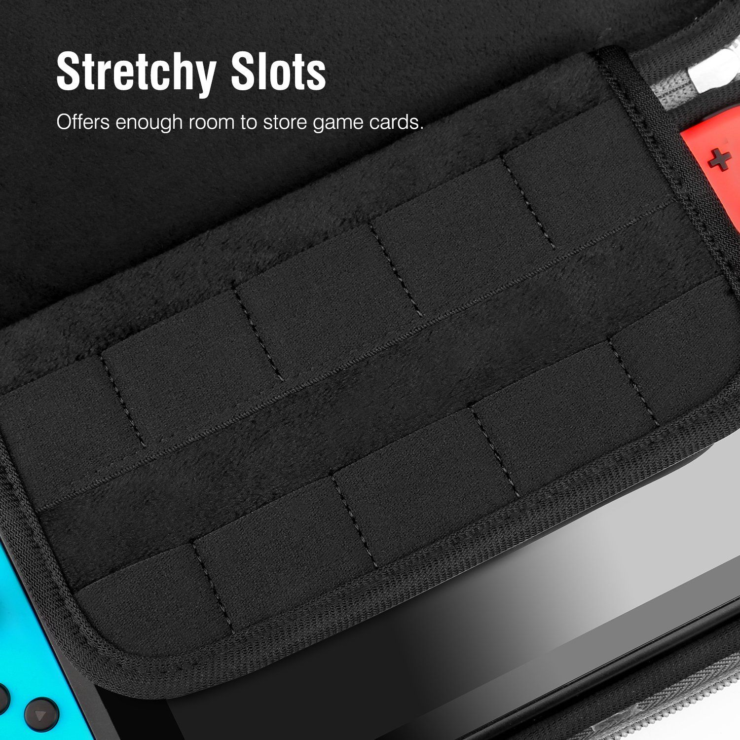 Moko Portable Case For Nintendo Switch Ultra Slim Travel Carrying