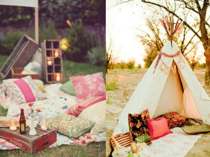 20 inspirations pour un pique nique chic blog deco deco. Black Bedroom Furniture Sets. Home Design Ideas