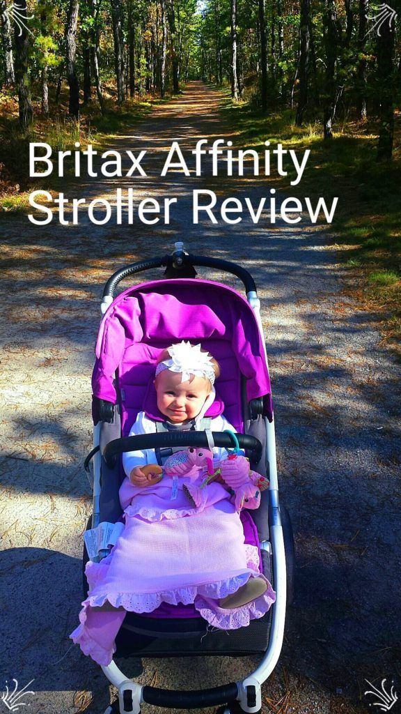 Ava at 10 months old in the Britax Affinity Stroller