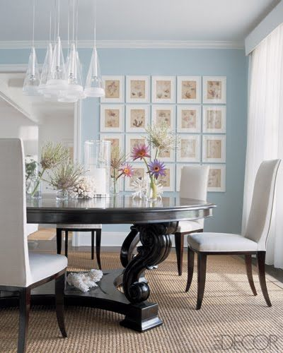 Your Own Gallery Dining Room Blue Blue Dinning Room Home Decor