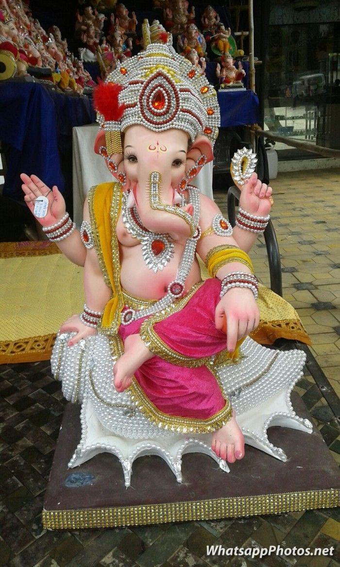 Bal Ganesh Photo Murti