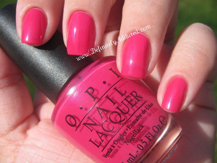 OPI That\'s Berry Daring | @ Your Fingertips | Pinterest | OPI and ...