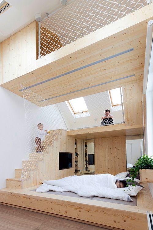 35 Mezzanine Bedroom Ideas Parents bedroom, Mezzanine