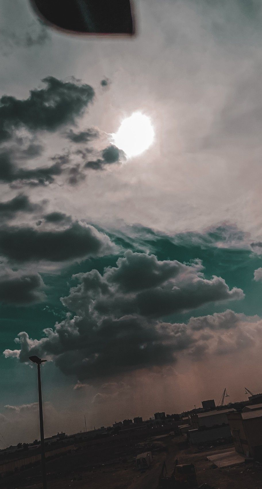 وقت الغروب Clouds Sky Outdoor