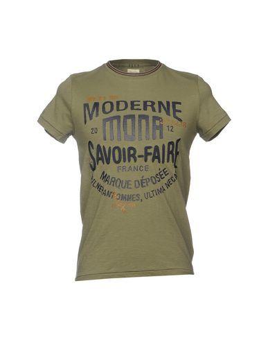 40WEFT Men's T-shirt Military green M INT