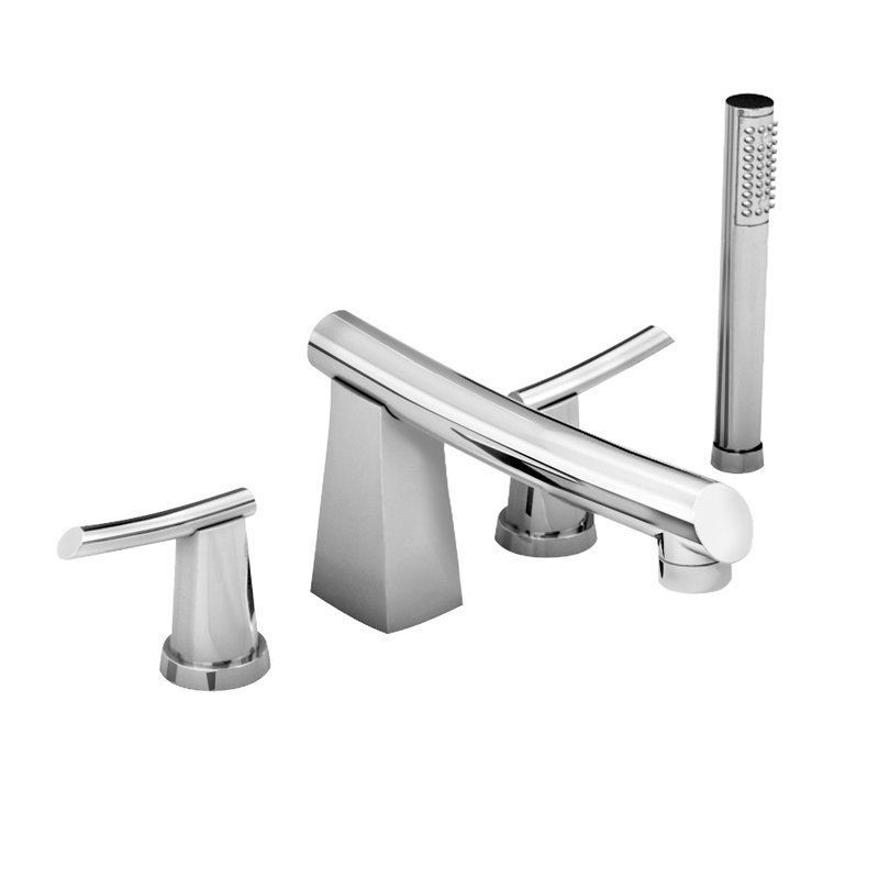 American Standard 7010.901.002 Double Handle Roman Tub Filler Faucet ...