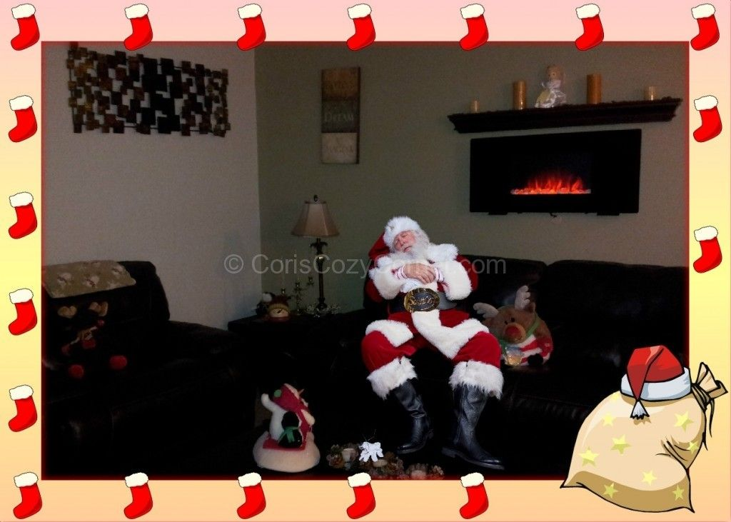 Santa claus pictures in your house