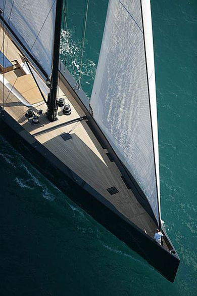 ultimate dream boat: a Wally sailing yacht | It's a man's world