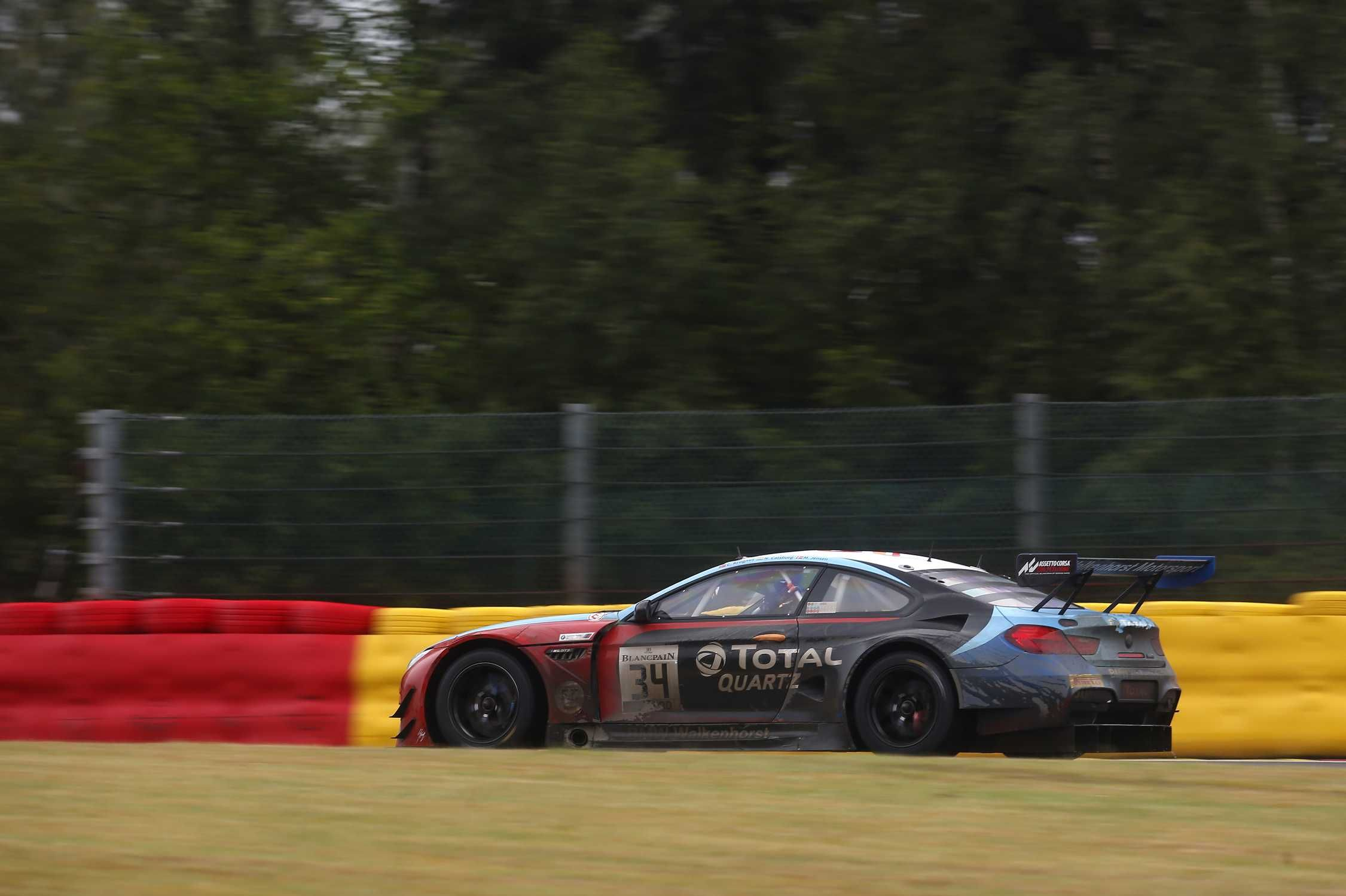 Walkenhorst Motorsport Bmw M6 Gt3 Reaches 11th Place After Chasing