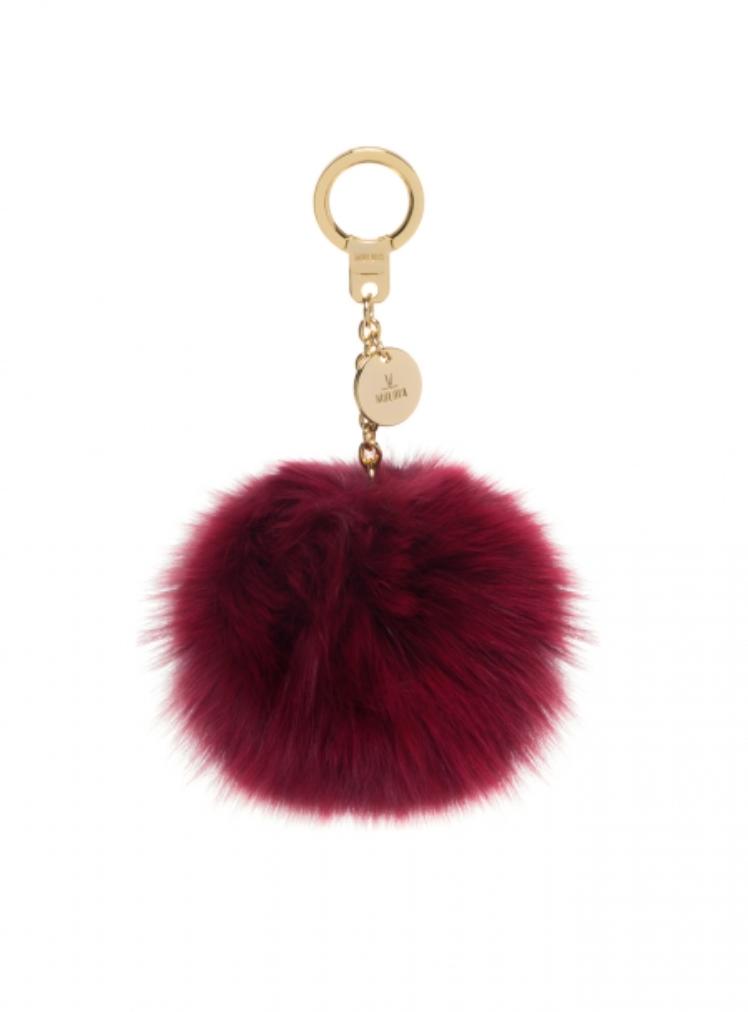 Moldir Fox Fur Pom Pom Keychain Fur Pom Pom Keychain Fur Keychain Pom Pom Bag Charm