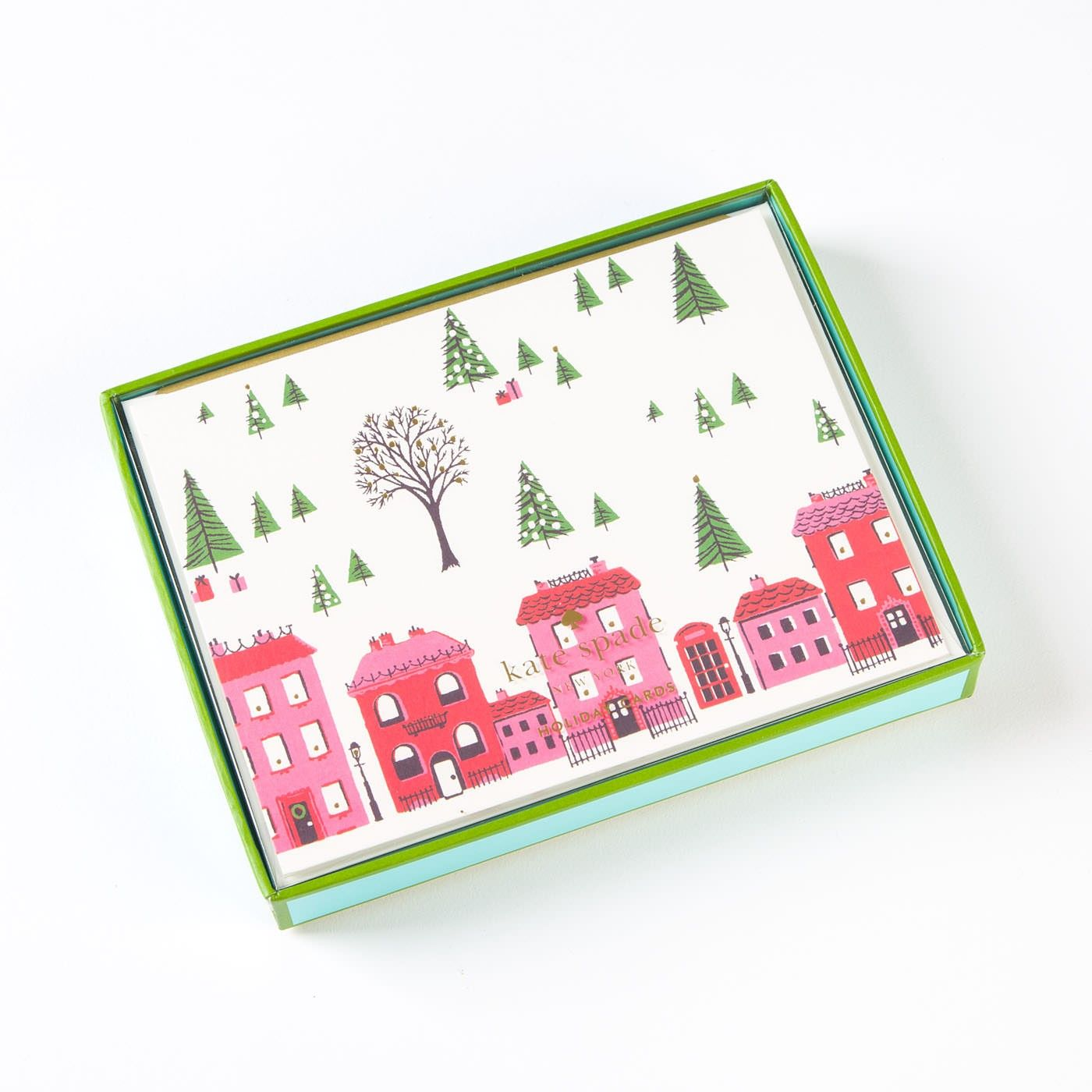 home for the holidays boxed holiday cards by kate spade new york set of 10 - Boxed Holiday Cards
