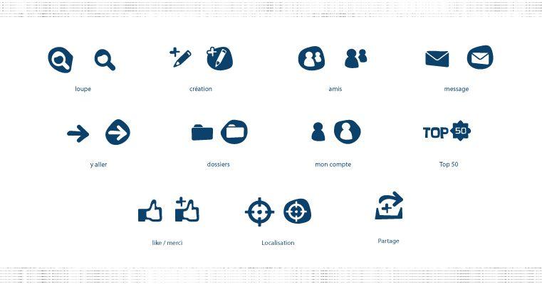 Icones Twio Portfolio Messages Charte Graphique