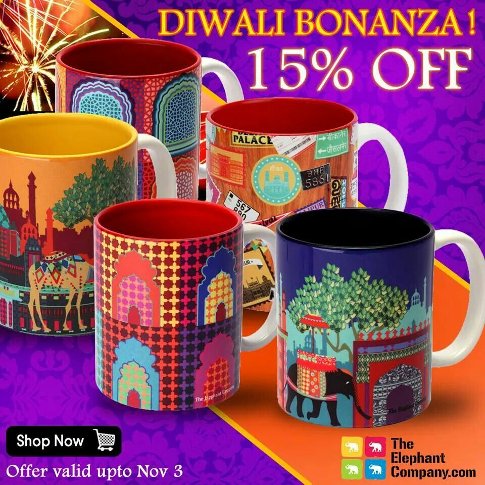 More of TEC India inspired coffee mugs