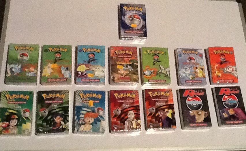 Pokemon theme decks 15 different decks https://t.co/mwpzVV3ogE https://t.co/FZY1FwUUGu