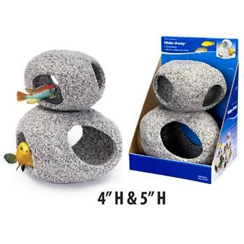 Penn plax stone hideaway is a great way to decorate your for Fish and more pet store